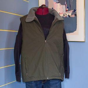 L.L. Bean fleece lined vest